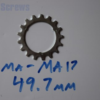"Maillard 700 Freewheel ""MA"" 5 6 and 7 speed 17T Cog"