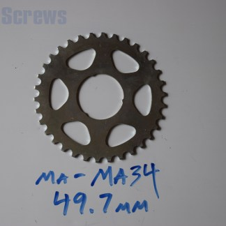 Maillard 700 Freewheel MA 5 6 and 7 speed 34T Cog