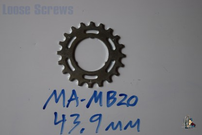 "Maillard 700 Freewheel ""MB"" 5 6 and 7 speed 20T Cog"