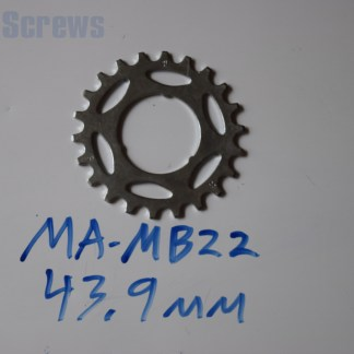 "Maillard 700 Freewheel ""MB"" 5 6 and 7 speed 22T Cog"