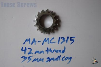 Maillard 700 Course Freewheel MC 7 speed 13T & 15T threaded Cog