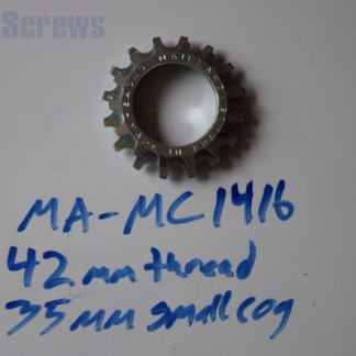 "Maillard 700 Course Freewheel ""MC"" 7 speed 14T & 16T threaded Cog"