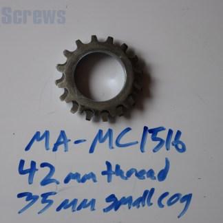 "Maillard 700 Course Freewheel ""MC"" 7 speed 15T & 16T threaded Cog"