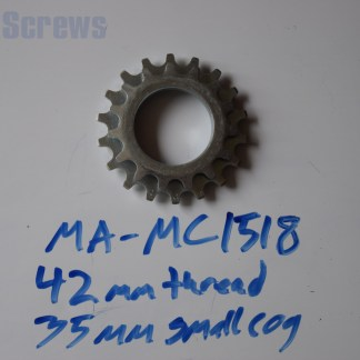 Maillard 700 Course Freewheel MC 7 speed 15T & 18T threaded Cog