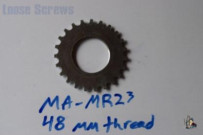 "Maillard 700 Freewheel ""MR"" 6 and 7 speed 23T threaded Cog"