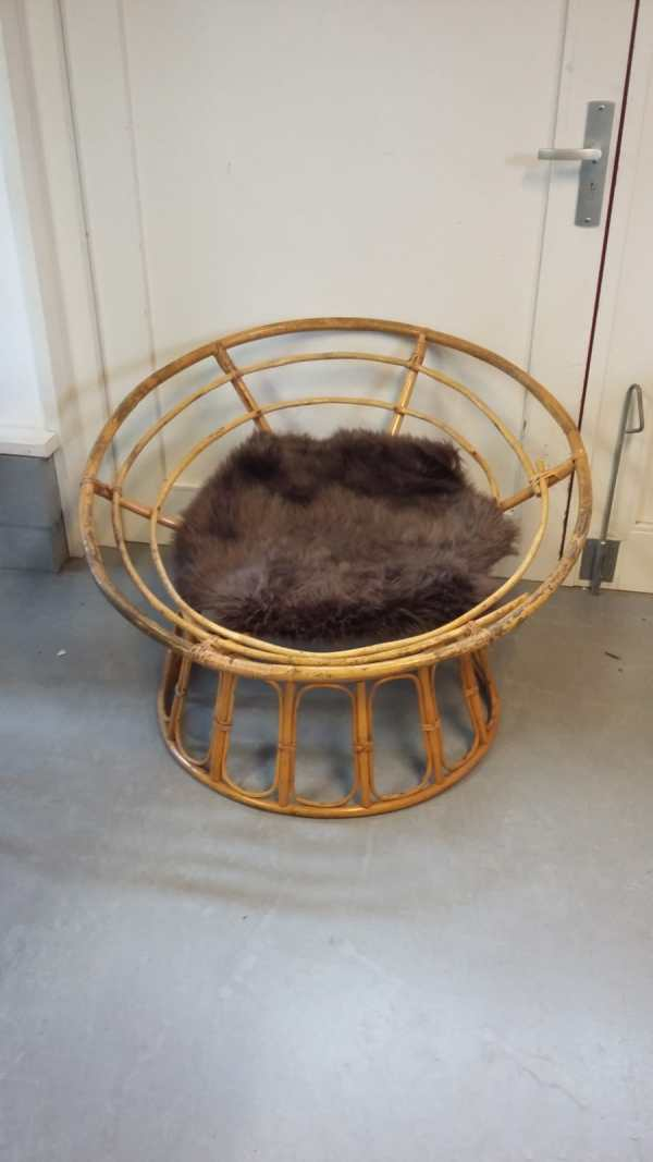 Vintage Rotan lounge chair