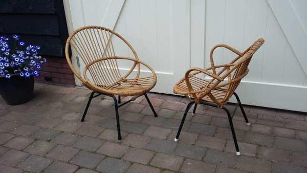 Mooie Rotan fauteuils