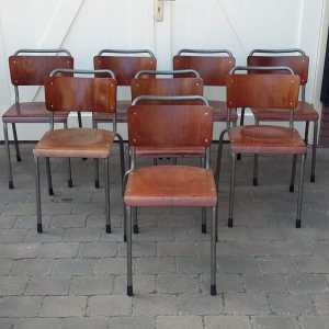 Vintage stoelen Gispen
