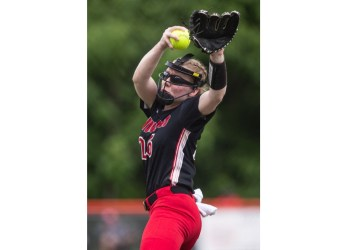 Tayven Stephenson winds up for a pitch. (Photo courtesy of Sholten Singer/HD Media)