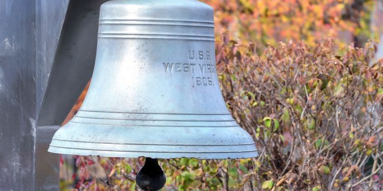WVU will hold three bell ringing ceremonies to honor the memories of 18 students who have died since the last ceremony was held in February, 2020. (WVU Photo)