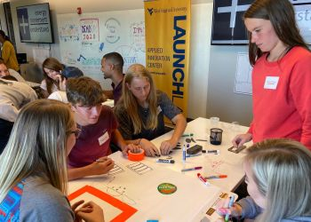 As they did at the 2019 Impact Challenge, West Virginia's young people provide fresh ideas and unique perspectives. Through a grant from the Appalachian Regional Commission, a team from WVU hopes to capitalize on that entrepreneurial spirit and create opportunities to help grow the state's economy. (WVU Extension Photo)