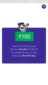 BharatPe App - Refer And Earn Upto Rs 100 Per Refer & Free Money On