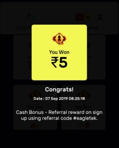 Earn money by Quiz Game - Free Rs 25 Instant Paytm Cash + Rs