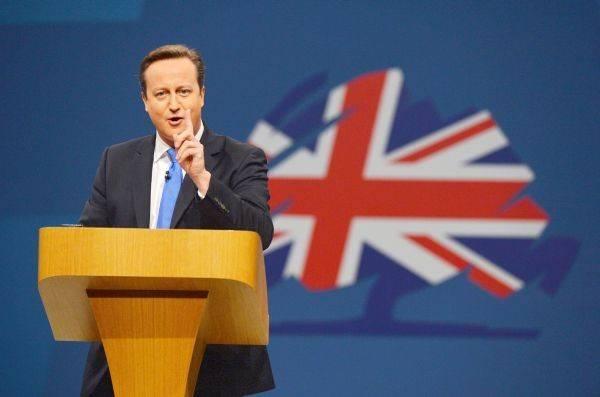 Primer ministro David Cameron