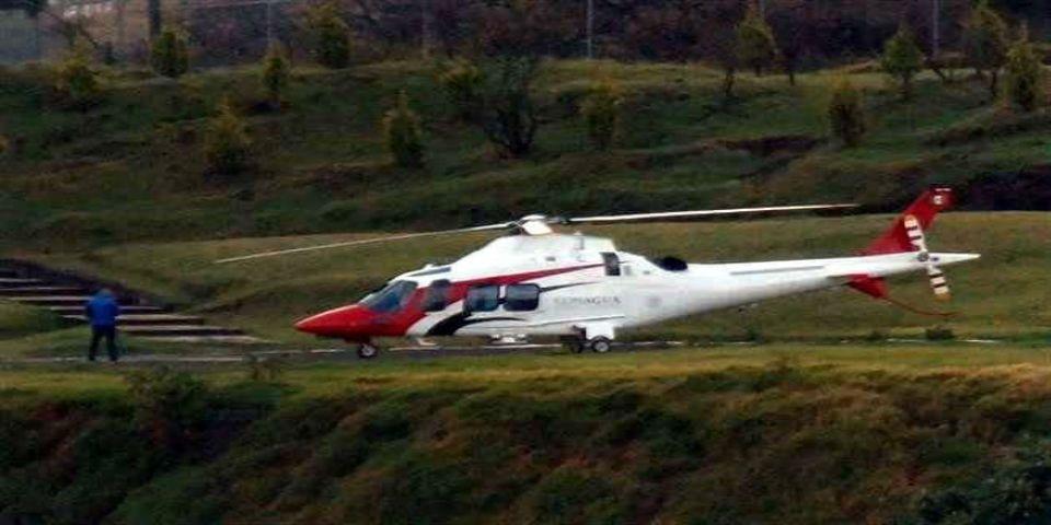 Helicóptero de Conagua