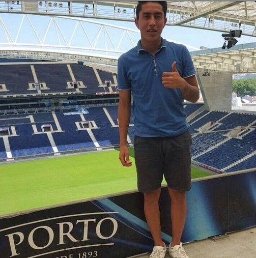 Govea en las instalaciones del Porto. Foto de Esto