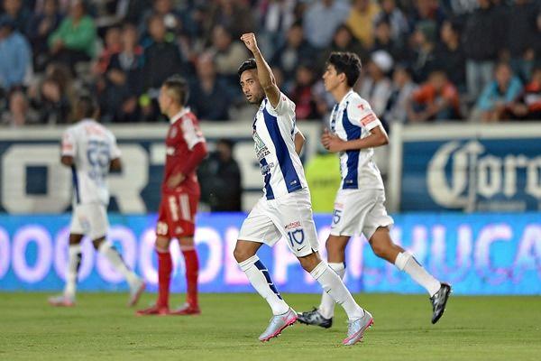 Urretavizcaya se estrenó en Pachuca con gol. Foto de Mexsport