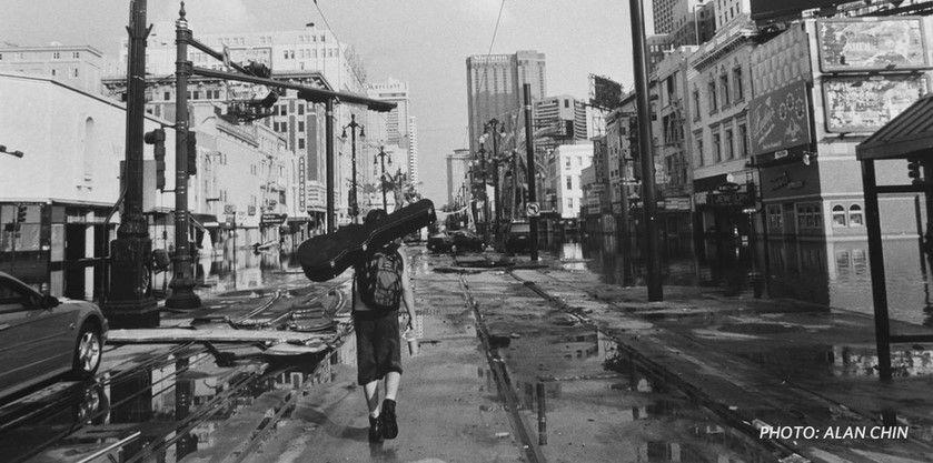 Nueva Orleans después de Katrina. Foto de Alan Chin