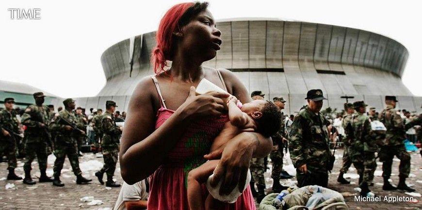 Nueva Orleans después de Katrina. Foto de Michael Appleton