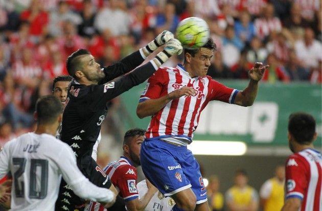 Cuellar frenó al Real Madrid con sus atajadas. Foto de Marca