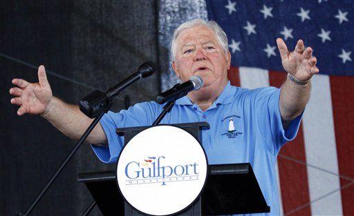 Haley Barbour, exgobernador de Mississippi. Foto de AP
