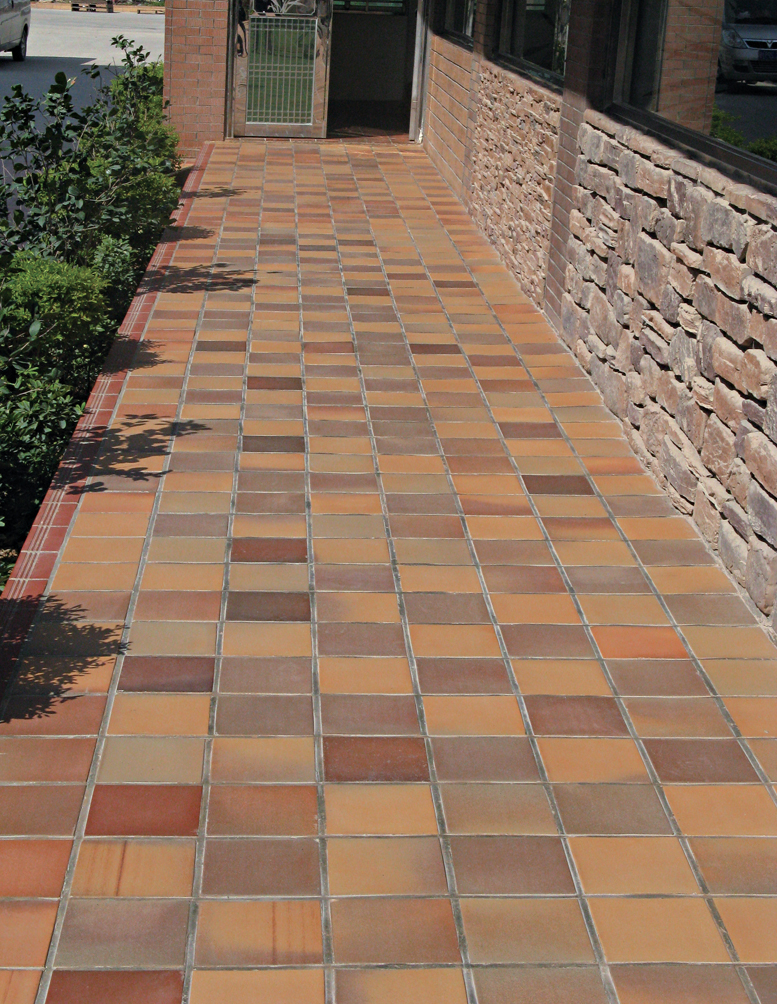 outdoor floor tile decoration china