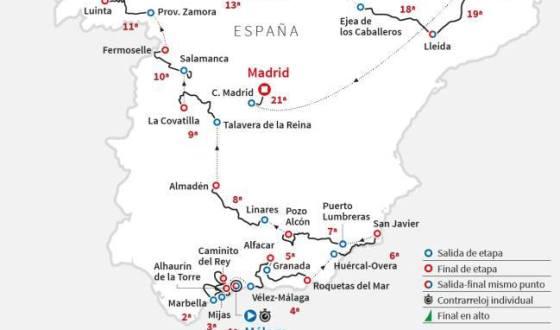 Mañana se presenta la Vuelta Ciclista, Pozo Alcón final de etapa el 31 de Agosto