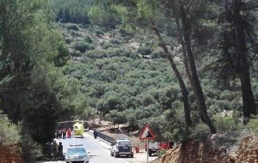 Fallece un barranquista en el río Guadalentín
