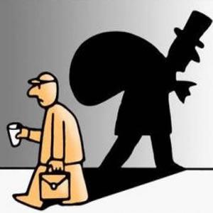 Salarios menguantes, capital creciente