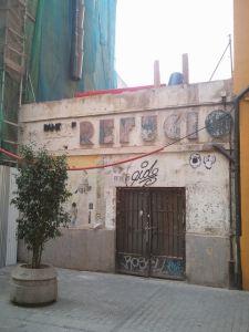 Refugio antiaéreo en la calle Serranos