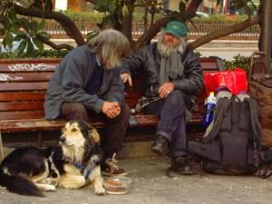 mendigos Madrid loquesomos