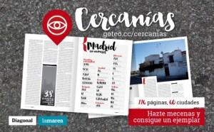 'Cercanías': el proyecto conjunto de La Marea y Diagonal