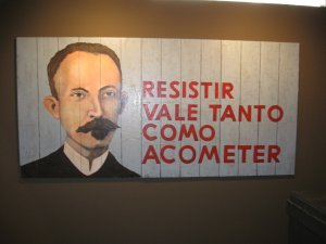Jose Marti used in more communist propaganda