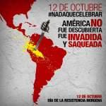 12 de octubre, España, madre patria de genocidios