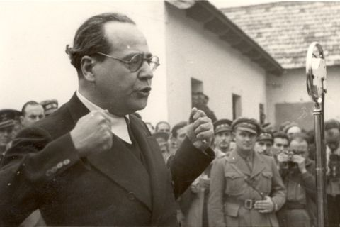 Juan Negrín, jefe del Gobierno republicano