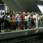 Metro de Madrid sin ´servicios`