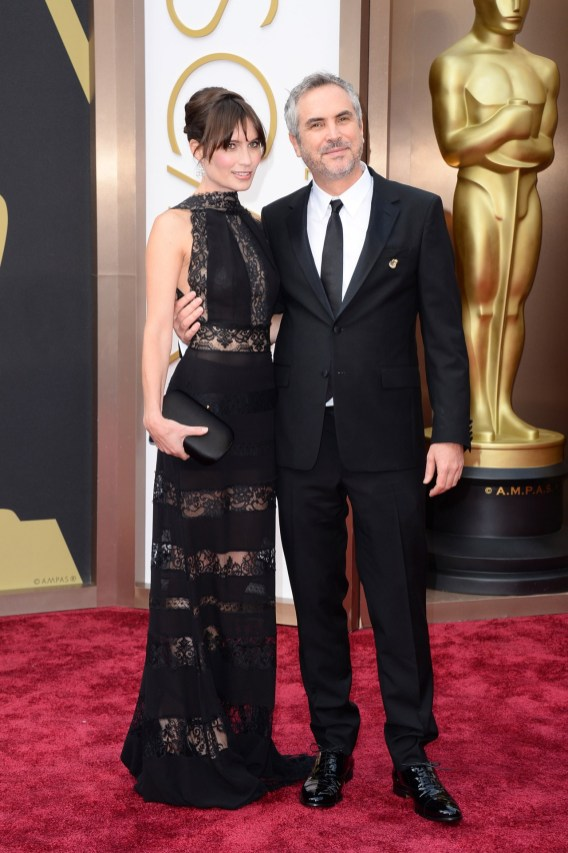Loquet London Creative Director Sheherazade Goldsmith and Academy Award winning Director Alfonso Cuarón