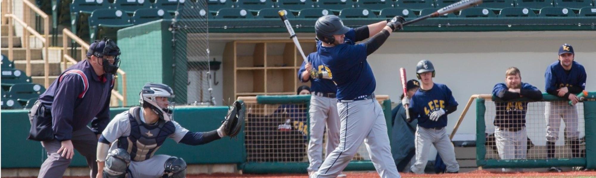 LCCC Baseball Team At Bat
