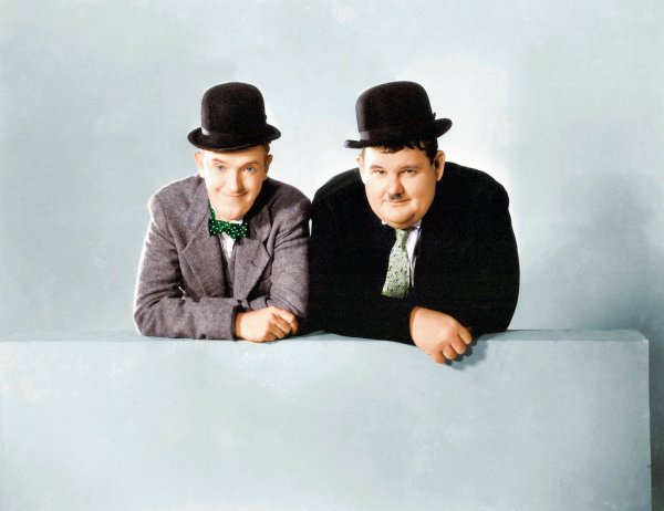 laurel and hardy color | Coloringsite.co