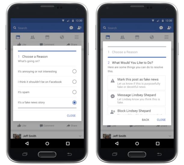 Comment Facebook va lutter contre les fausses informations