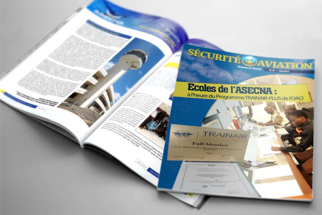 "Magazine "" Sécurité aviation ""- ASECNA"