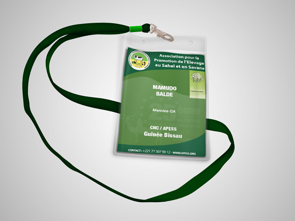 Badges evenement - APESS