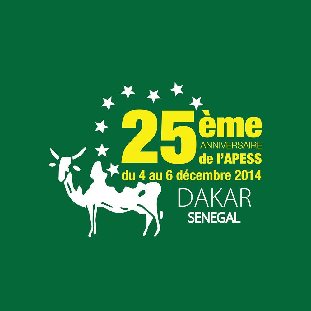 Logo Evenementiel - 25ème Anniversaire - APESS