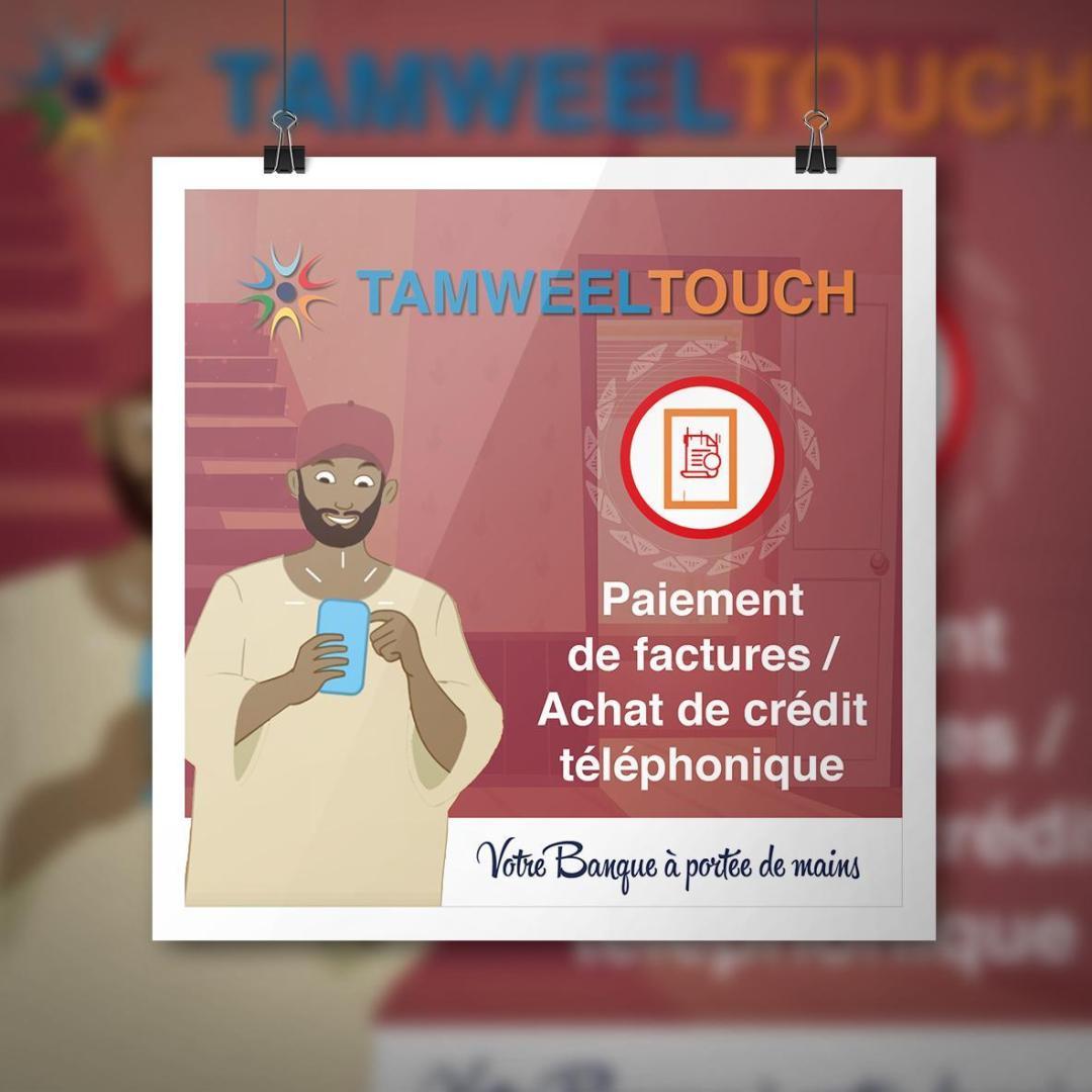 Affiche - Paiement_facture - TAMWEEL
