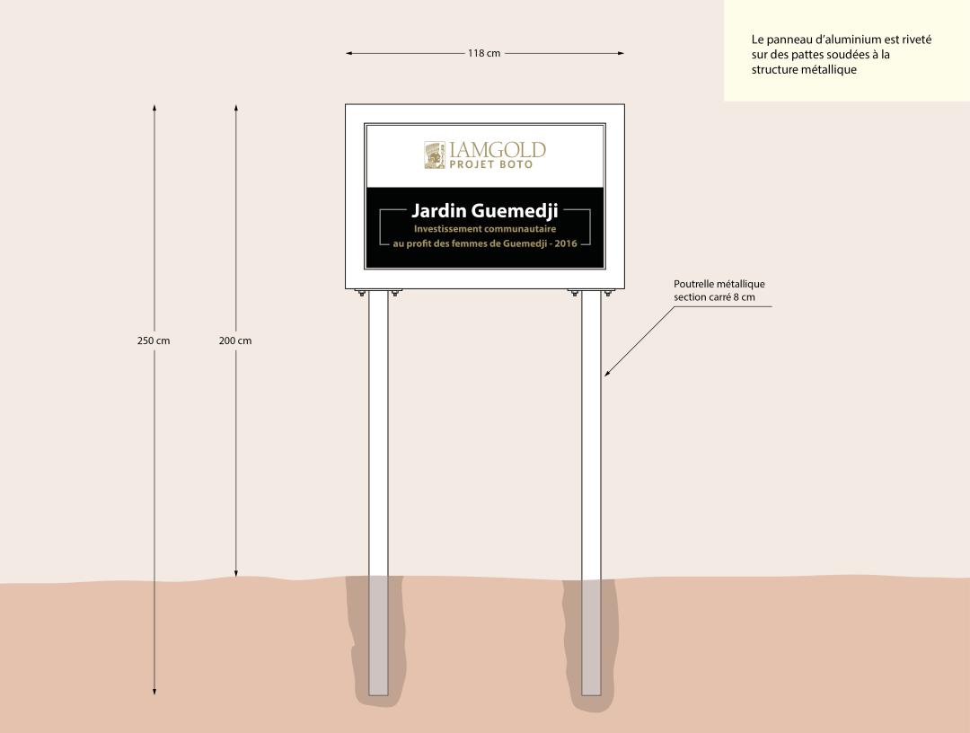Panneaux réalisations - IAMGOLD