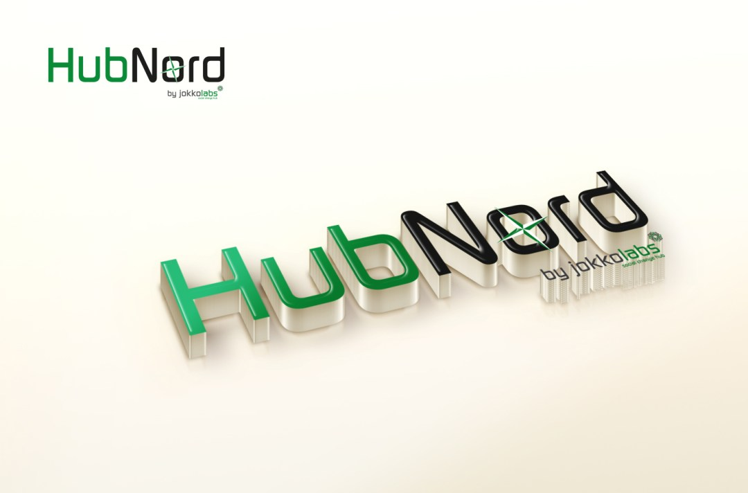 Logo HubNord  Design by Lordibra  