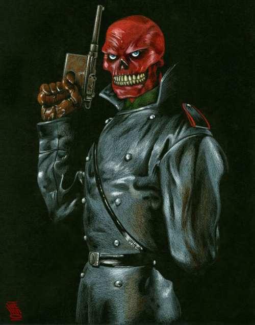 Hugo Weaving Cast as Red Skull