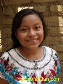 Girl  and blouse from San Pablo la Laguna