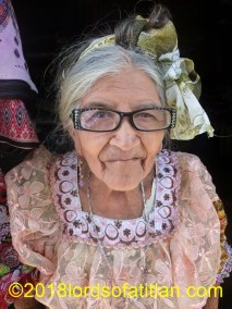 This woman sold traditional  clothing in San Juan la Laguna but is now deceased.