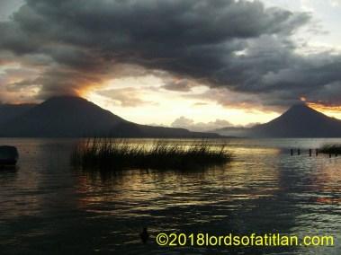 Lake Atitlán seen from Santa Catarina Palopó